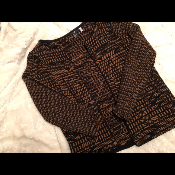 •2 for $35• Pattern sweater jacket